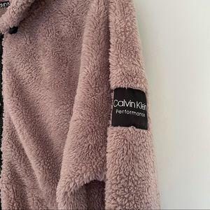 Pink Calvin Klein zip up